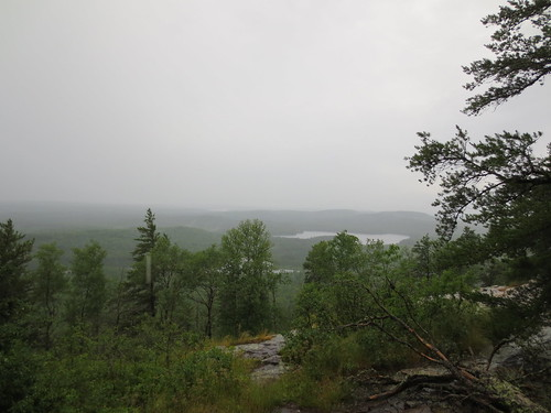 View from near the summit of Eagle Mountain.