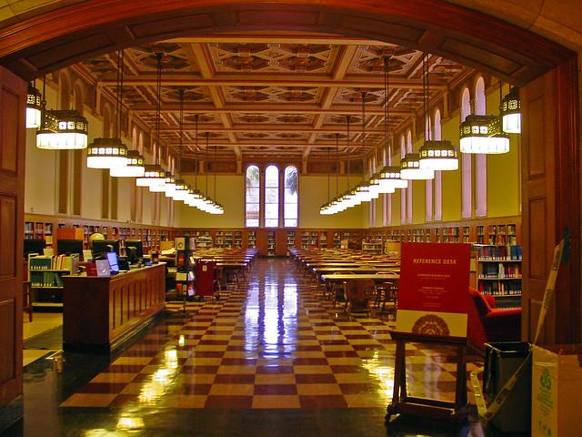 05n Usc Edward L Doheny Jr Memorial Library Los