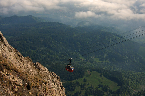 gondola from Mt Pilatus