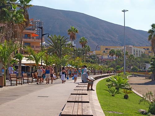 Promenade, Los Cristianos, Tenerife