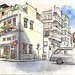 36th World Wide SketchCrawl: Ormsby Street, Tai Hang, Hong Kong  大坑四處畫