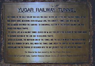 Yugar Railway Tunnel