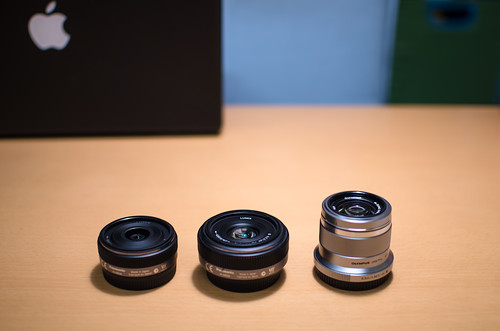The trio of micro four thirds single focal length lenses by hyossie