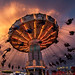 Salem Fair Carnival Ride Silhouettes [EXPLORED] by curtisWarwick