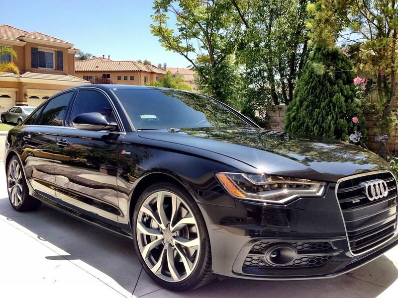 old member new car 2012 audi a6 prestige phantom black w stassis exhaust photos. Black Bedroom Furniture Sets. Home Design Ideas