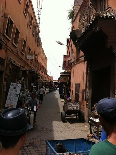 Arrival in Marrakech