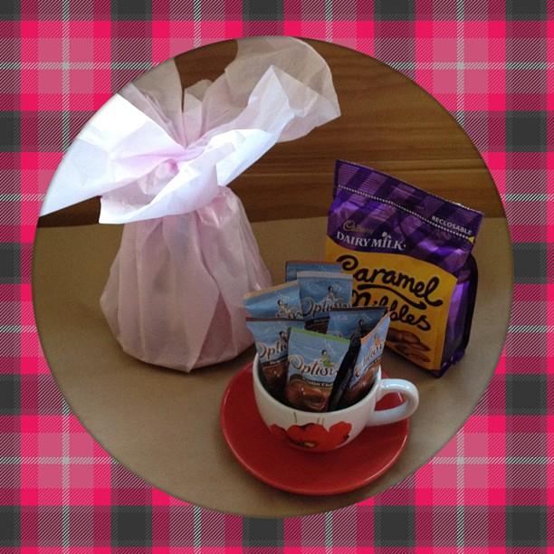 #poppy #cup #present #hotchocolate