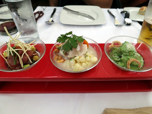 Los 3 ceviches