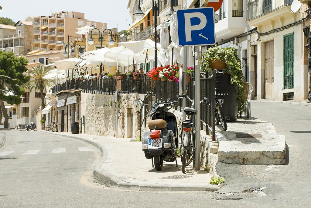 """Vespa - Port de Soller - Mallorca """"12"""
