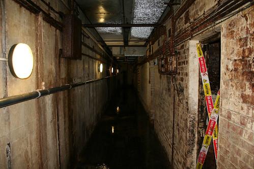 Lower level corridor