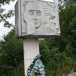 monument to veterens of the great patriotic war, cemetary, tysmenyts, ukraine