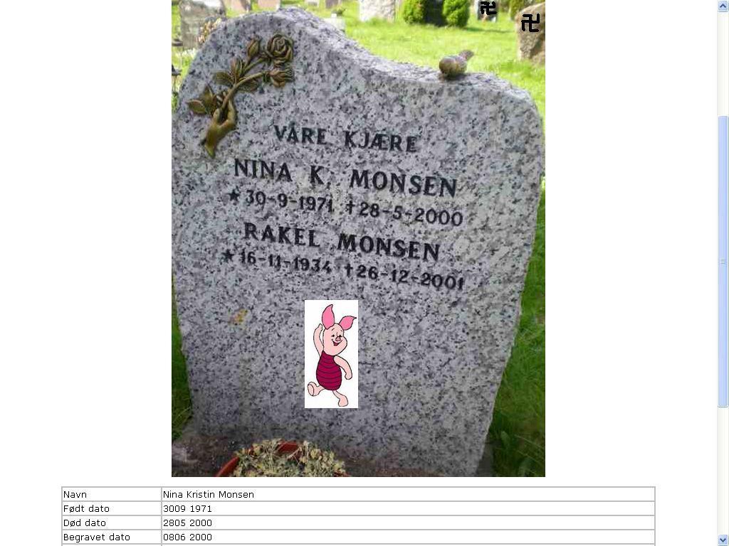 nina monsen sin grav tysk krigskirkegården google graves