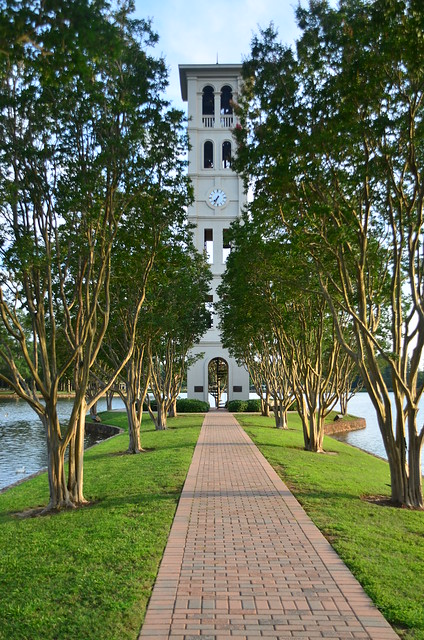 Furman Belltower Walkway