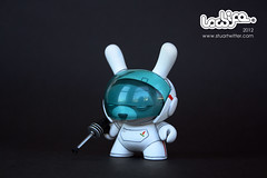 "Space rabbit custom 3"" Dunny"