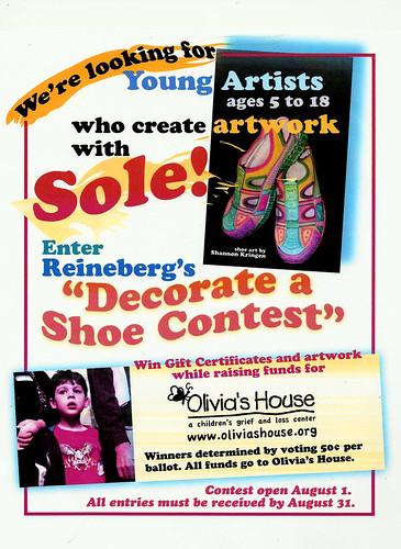 Decorate a Shoe Contest!