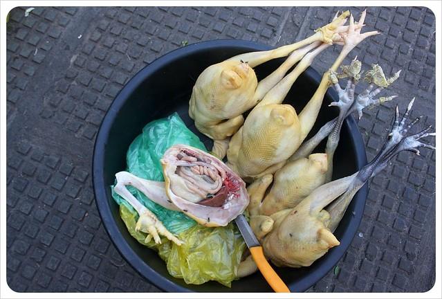 phnom penh central market chickens