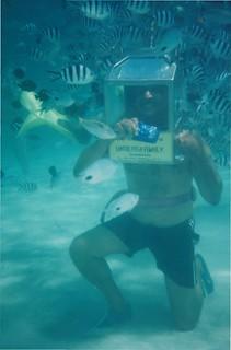 Thats me underwater