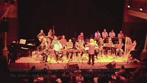 Edinburgh Jazz Festival Orchestra - 25 July 2012 - Orgone