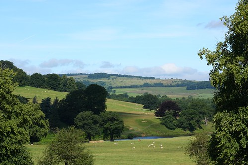 Chatsworth view across Devonshire