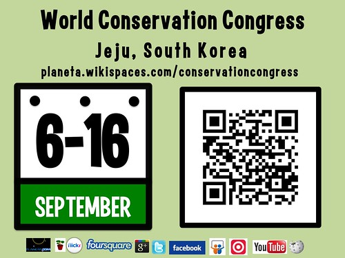 World Conservation Congress, September 6-16