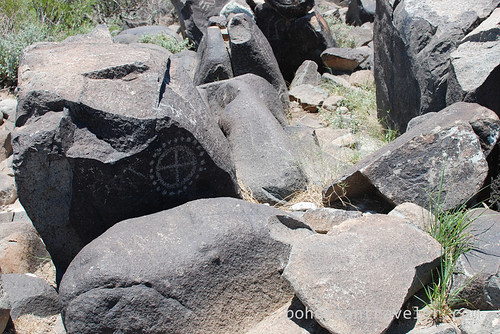 petroglyphs at three rivers Site New Mexico
