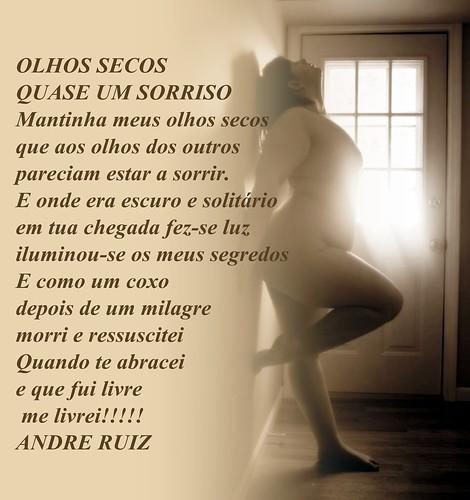 OLHOS SECOS QUASE UM SORRISO by amigos do poeta