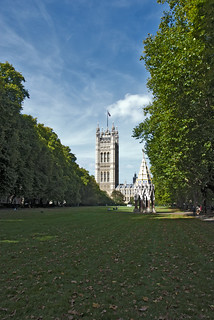 Victoria Tower Garden,Westminster, London, UK