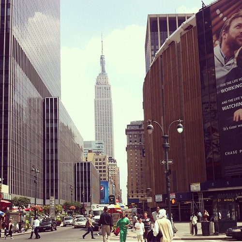 Empire State Building and MSG