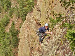 Jeff Leading Swanson's Arete