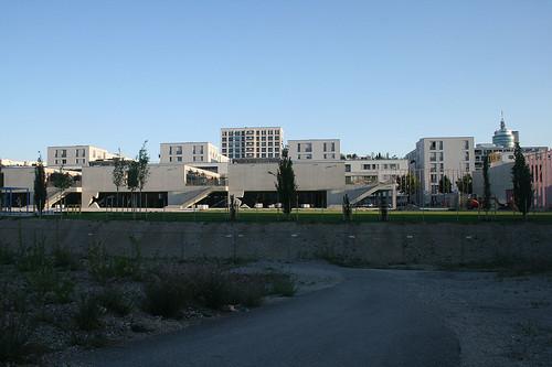 Neubau Grundschule & Skyline an der Marlene-Dietrich-Straße