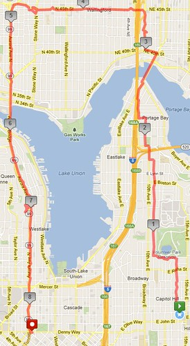 Today's awesome walk, 8.77 miles in 2:22 by christopher575