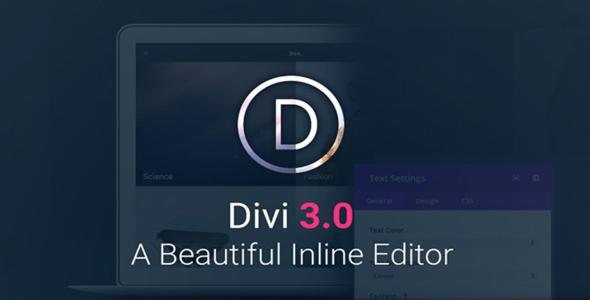 Elegantthemes Divi v3.0.21