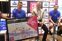Přes čtyři tisíce přihlášených hlásí Telekom Night Run v Bratislavě