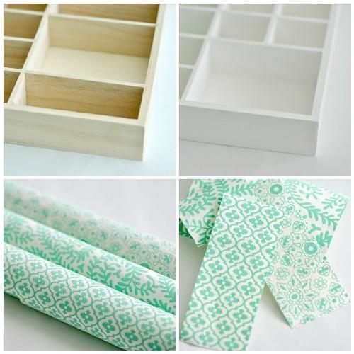 Decorating mini shelves - Part 1