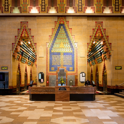 Guardian Building Interior - Lobby