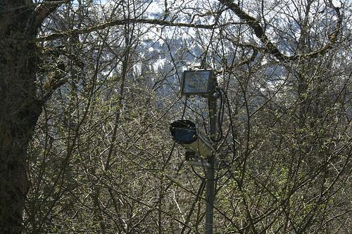 Überwachungskamera am Maurischen Kiosk - Schloß Linderhof
