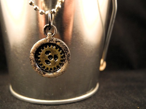Sprocket Necklace