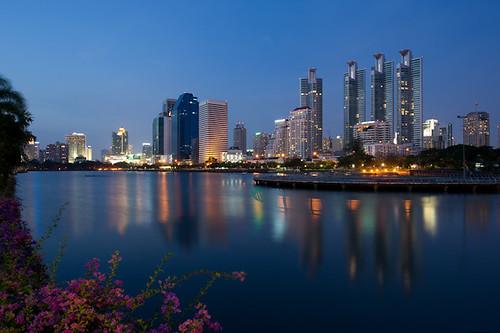 park city light flower nature architecture night thailand nikon dusk bangkok culture d3 totallythailand