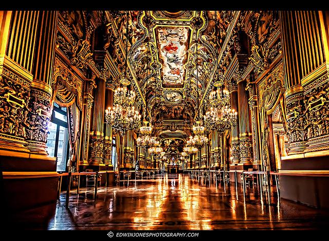Paris Opera House Grand Foyer : Grand foyer opera garnier paris flickr photo sharing
