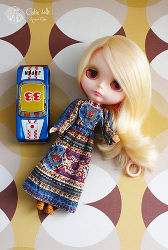 kenner, blythe, blonde, doll, 1972, Cookie dolls, cookiedolls, vintage, antique, Cordelia, restoration, defrizz