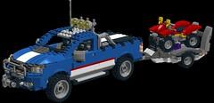Ford Ranger - Offroad Power - Lego Nr. 5893 Overhauled