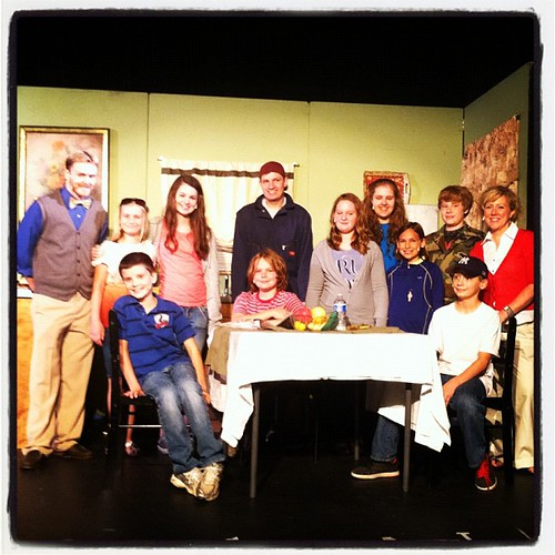 "The cast of ""Under One Roof"". #drama"