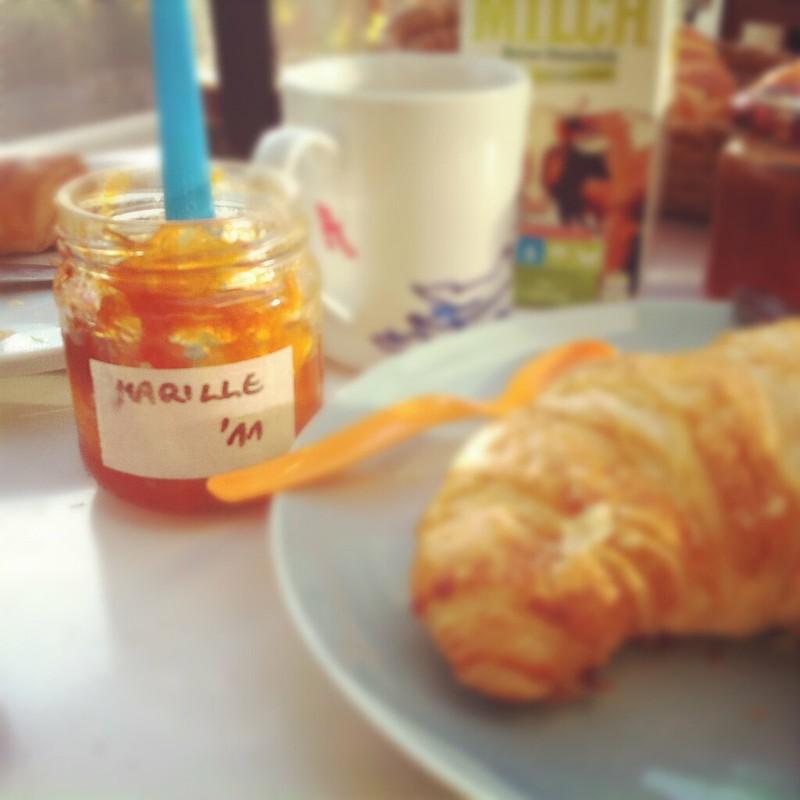 Frühstück am Sonnendeck