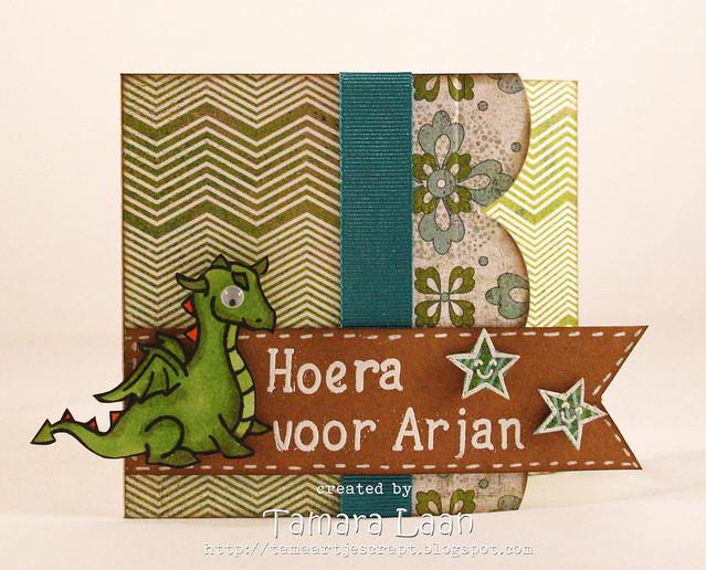 Hoera voor Arjan