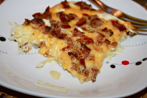 Confessions of a City Eater: Easy Potato and Bacon Breakfast Casserole