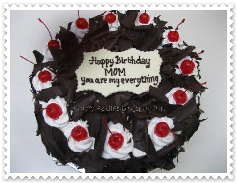 black forest mom by DiFa Cakes