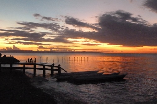 Sunset at Kupang, Timor Barat, Indonesia