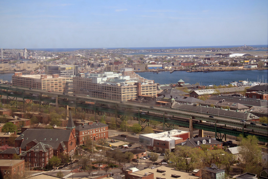 view from bunker hill monument