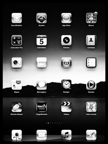 IPad - Home Screen by Rogsil
