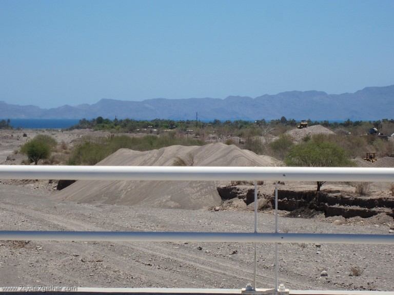 Hwy 1 South Loreto, Sand Mining